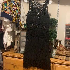 Crochet dress Bikini cover dress